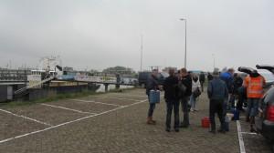 Aankomst in de haven van Lauwersoog.